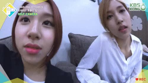 Watch MiChaeng GIF by @sil130 on Gfycat. Discover more Chaeyoung, Mina, Twice, asiangirlsbeingcute GIFs on Gfycat