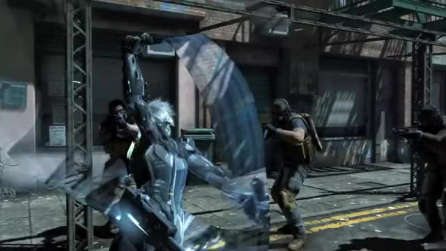 Watch and share Metal Gear Rising GIFs and Kojima GIFs by nalgfm on Gfycat