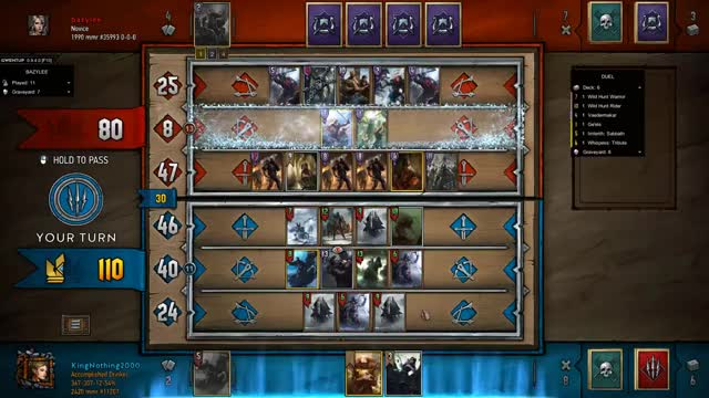 Watch Iris Countdown GIF by KingNothing2000 (@kingnothing2000) on Gfycat. Discover more Gwent, Gwent Moments, Gwent: The Witcher Card Game, King, King Nothing, Moments, Nothing, Nothing but King Moments GIFs on Gfycat