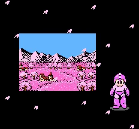 Watch and share Sakura Season - Mega Man 2 (Capcom - NES - 1988) GIFs on Gfycat