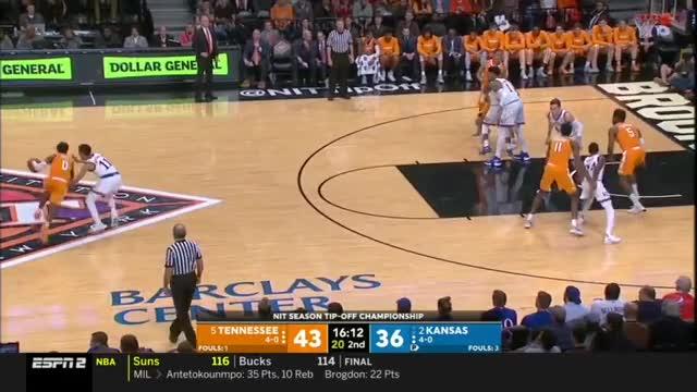 Watch Tennessee-Kansas, 11/23/2018 (Preseason NIT) GIF on Gfycat. Discover more Milwaukee Bucks, People & Blogs, Phoenix Suns, basketball, hornburner uploads GIFs on Gfycat