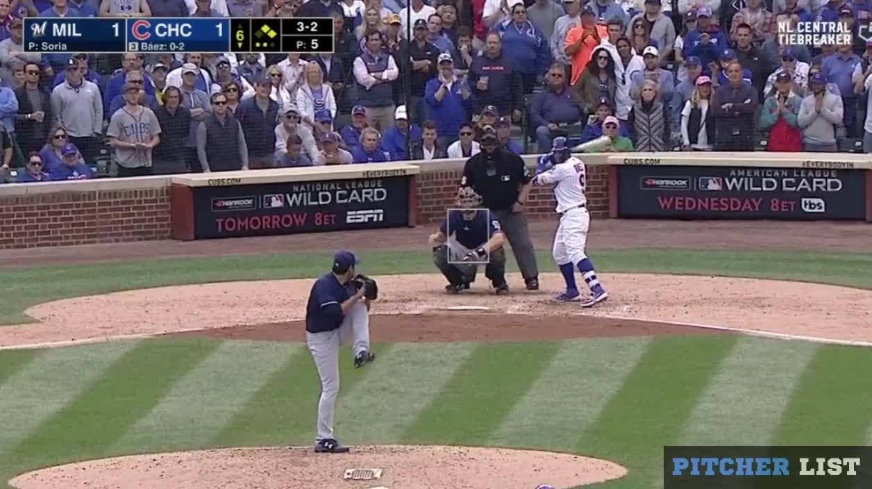 Milwaukee Brewers, baseball, Joakim Soria FB 10-1-18 GIFs