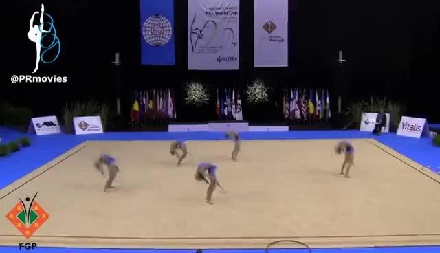 Watch and share Gymnastic GIFs and Rhythmic GIFs on Gfycat