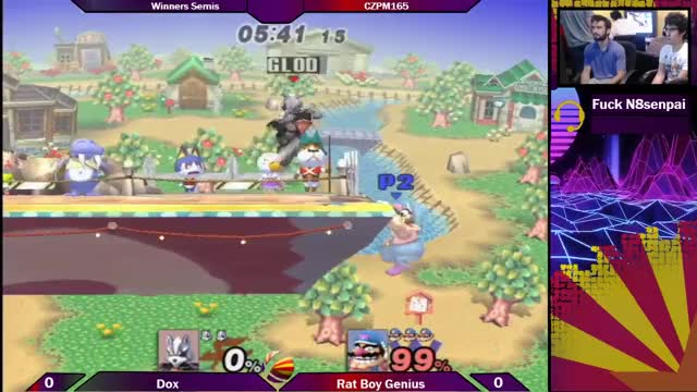 Watch CZPM165: Rat Boy Genius (Wario/DK) vs Dox (Wolf) Winners Semis GIF on Gfycat. Discover more arizona, az, biweeklies, bros, brothers, melee, pm, project, projectm, smash, smashgifs, ssmb GIFs on Gfycat