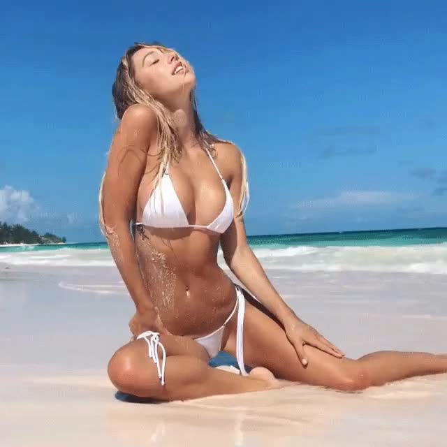 Watch this alexis ren GIF by shapesus (@politoadmoves) on Gfycat. Discover more alexis ren, beach, bikini, celebs GIFs on Gfycat