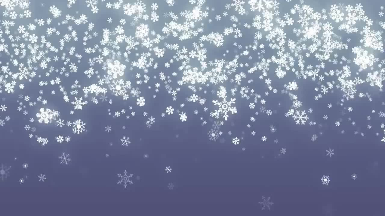 snow, snowflake, Falling Snowflakes Background Loop for Winter/Holidays GIFs
