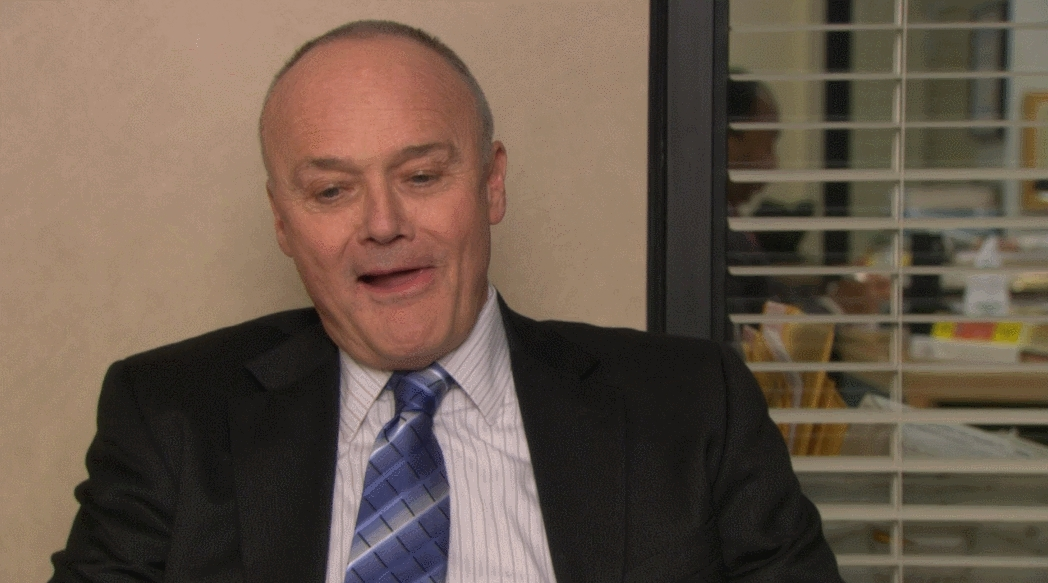 dundermifflin, Creed's dating situation GIFs