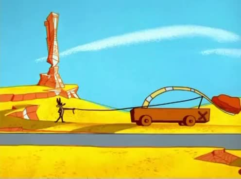 Watch and share Roadrunner GIFs and Catapult GIFs on Gfycat