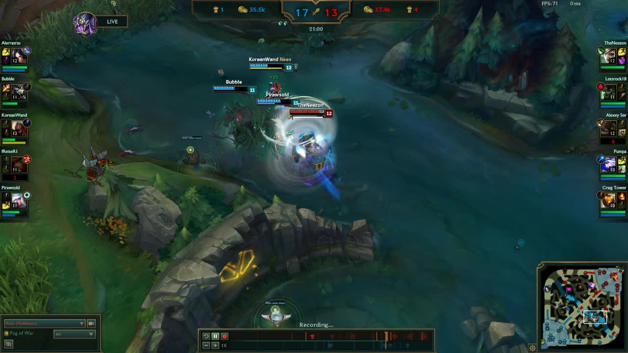 rivenmains, Riven 1v3 turn-around GIFs