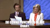 Watch and share Ron Burgundy Amateur Hour GIFs on Gfycat