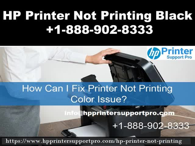 Watch and share HP Printer Not Printing Black +1-888-902-8333 Printer Not Printing GIFs by Maria Carter on Gfycat