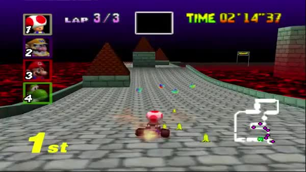 Watch and share Mario Kart... GIFs on Gfycat