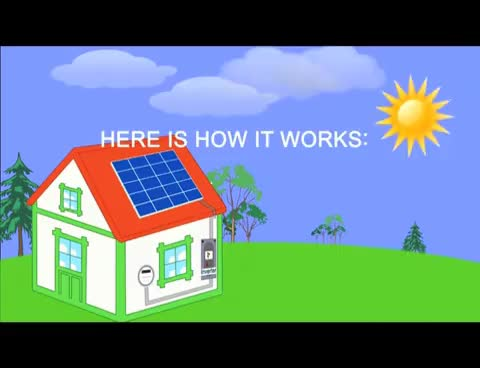 Watch and share How Solar Panels Turn Sunlight Into Electricity. GIFs on Gfycat