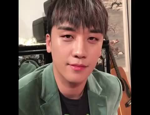 "Watch and share Does T.O.P Making Seungri's Bad BirthDay? T.O.P Fenomenal ""happy Birthday Bro"" GIFs on Gfycat"
