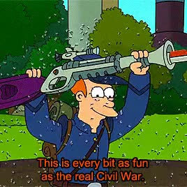 Watch this GIF on Gfycat. Discover more 6x06, fry, futurama, futurama nerd, gifset, hoth, leela, lethal inspection, original, star wars GIFs on Gfycat