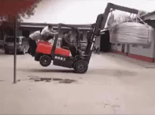 Watch and share Forklift Fun GIFs on Gfycat