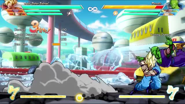 Watch and share Goku Aerial Combo Extended GIFs by Arci on Gfycat