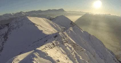 Watch and share Mountain, Nature, Snow, Peak, Top GIFs on Gfycat