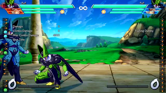 Watch DBFZ cell 5LL corner carry GIF on Gfycat. Discover more related GIFs on Gfycat