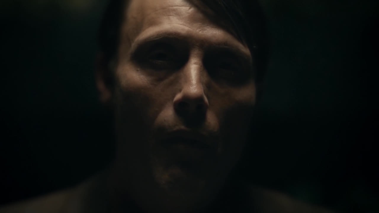 cinemagraph, hannibal, loop, mads mikkelsen, Hannibal S01E01 - The First Meal GIFs