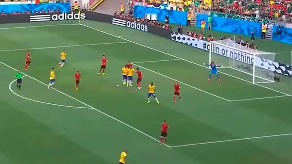 Watch Guillermo Ochoa Save Versus Brazil GIF by @the18soccer on Gfycat. Discover more related GIFs on Gfycat