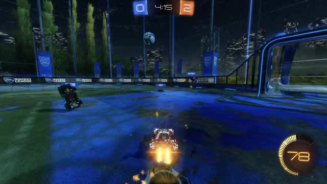Watch Goal 3: IJ. GIF by Gif Your Game (@gifyourgame) on Gfycat. Discover more Gif Your Game, GifYourGame, Goal, IJ., Rocket League, RocketLeague GIFs on Gfycat