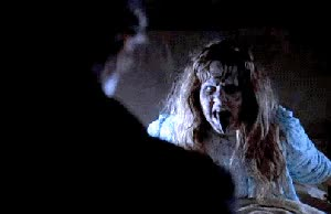 Watch the exorcist GIF on Gfycat. Discover more related GIFs on Gfycat