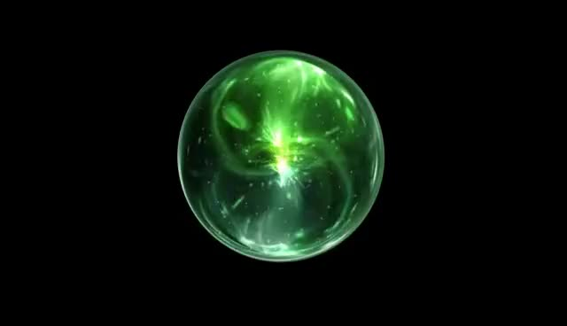 Watch and share Green Wizard Orb - Free Animation Stock Footage GIFs on Gfycat
