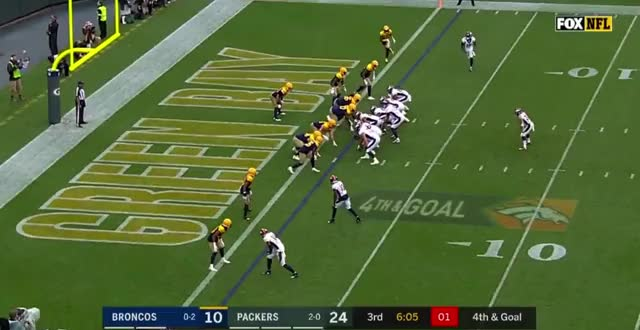Watch and share Green Bay Packers GIFs and Denver Broncos GIFs by Matt Weston on Gfycat
