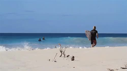 Watch TannerGudauskas;Caribbeanrun-up.via surfer GIF on Gfycat. Discover more 2013, Carribbean, SURPHILE, Surfer Magazine, Tanner Gudauskas, beach, beachbreak, crystal clear, gif, ocean, run-up, running, running start, sand, somewhere in, surf, surfer, waves GIFs on Gfycat