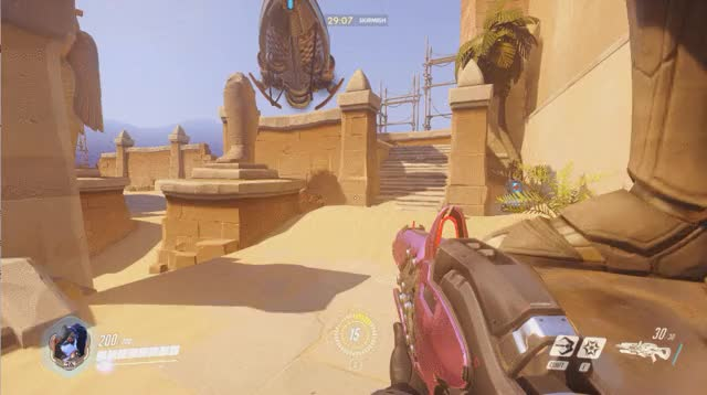 Watch and share Temple Of Anubis - Widowmaker Sniping Spot GIFs by pcgtyler on Gfycat