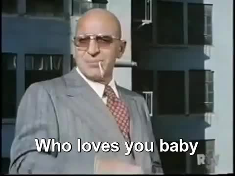 Watch Who Loves Ya Baby GIF by @uberbrawd on Gfycat. Discover more (s02e12), kojak, who loves ya baby? GIFs on Gfycat