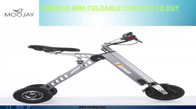 Watch and share Topmate Mini Foldable Tricycle To Buy GIFs by Moojay on Gfycat