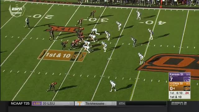Watch and share Oklahoma State GIFs and Ncaa Football GIFs on Gfycat