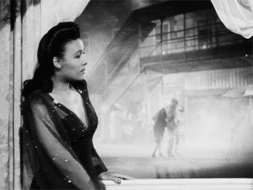 Watch and share @темы:Stormy Weather,  Lena Horne,  GIF,  Andrew L. Stone,  1940s GIFs on Gfycat