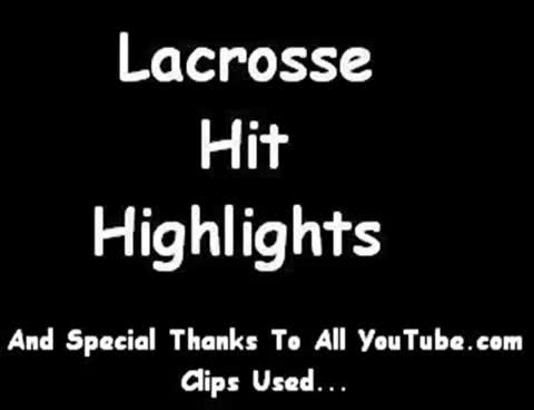 Lacrosse Hit Highlights GIFs