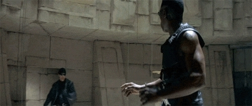 blade, fight, fighting, wesley snipes,  GIFs