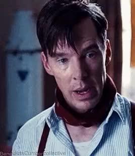 Watch Benedict Cumberbatch GIF on Gfycat. Discover more Benedict Cumberbatch, Film, Gif, The Imitation Game GIFs on Gfycat