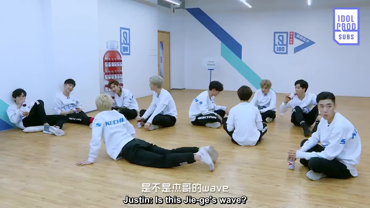ENG Idol Producer EP 8 Behind The Scenes 《 Dream》 Team Practice Time Ft  Mischievous Justin