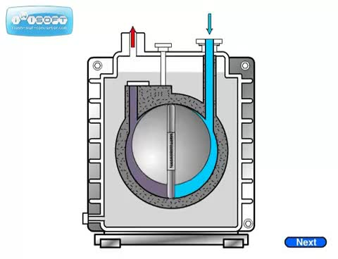 Watch and share Rotary Vane Pump Animation GIFs on Gfycat