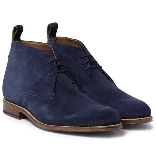 Watch Marcus Suede Chukka Boots GIF on Gfycat. Discover more Boots, Chukka, Grenson, Lace-up, MR PORTER, Nick Wooster, Shoes, Suede, fashion GIFs on Gfycat