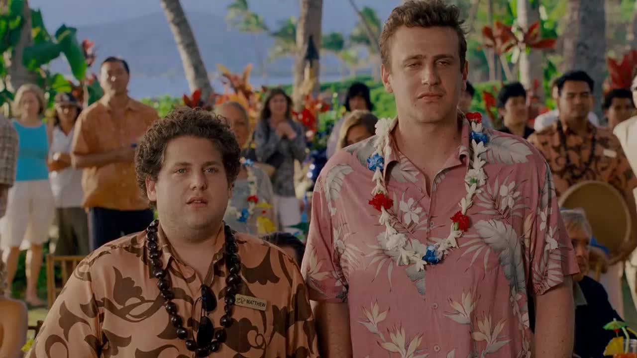 forgetting sarah marshall, jason segel, jonah hill, just went from six to midnight long GIFs