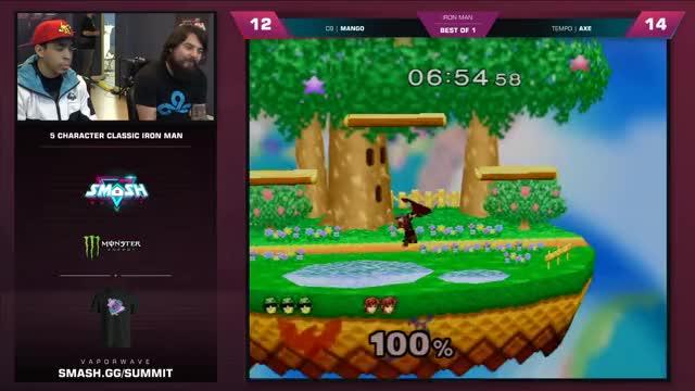 Mang0 vs Axe - Iron Man Semifinals - Smash Summit 7