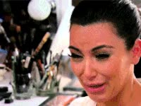 Watch and share Kim Kardashian, Crying, Ugly Cry, Kim K GIFs on Gfycat