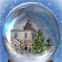 Watch and share Christmas Crystal Snow Ball Animated Gif GIFs on Gfycat