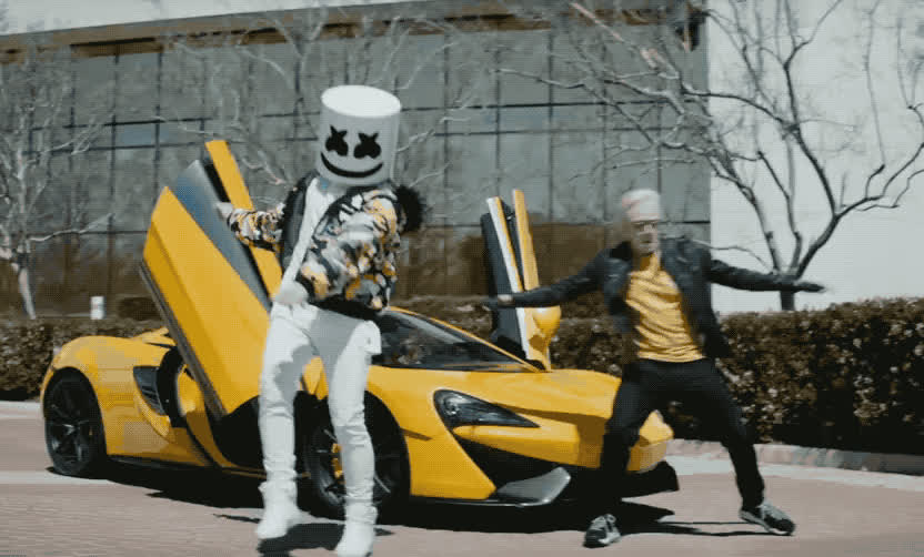 around, best, bff, car, cars, celebrate, dance, dancing, everyday, excited, friend, happy, jump, logic, marshmello, marshmellow, party, woohoo, yay, yo, Logic Marshmello - Everyday GIFs