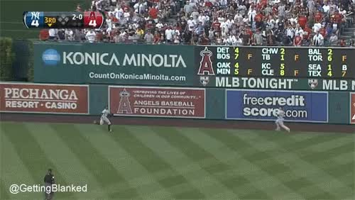 Watch outfield collision GIF on Gfycat. Discover more related GIFs on Gfycat