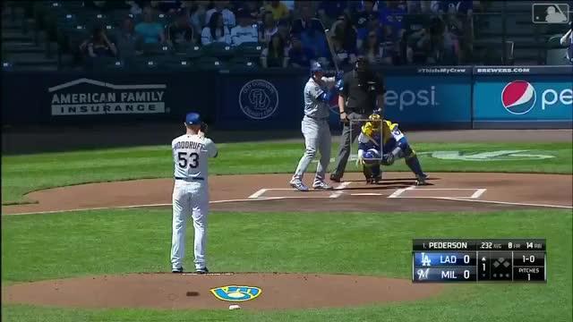 Watch and share Milwaukee Brewers GIFs and Baseball GIFs on Gfycat