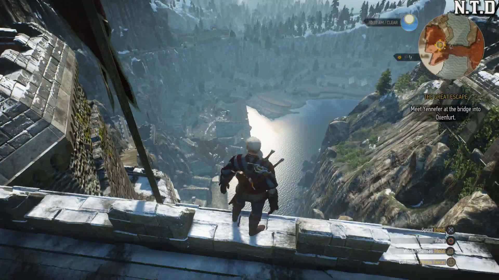 Action Role-playing Game (Video Game Genre), Dive, Gameplay, Gaming, Geralt, Geralt Of Rivia (Fictional Character), Graphics, Height, High, Incredible, Insane, Nathlaaar, The Witcher 3: Wild Hunt (Video Game), Witcher, The Witcher 3: Geralt dives from insane height! GIFs