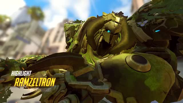 Watch and share Overwatch GIFs and Reinhardt GIFs by ramzeltron on Gfycat